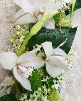Centro de mesa Orquídeas