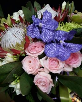 Centros flores especiales África