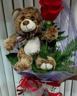 Rosa regalo individual