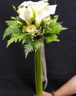 Ramo boda Zantedeschia