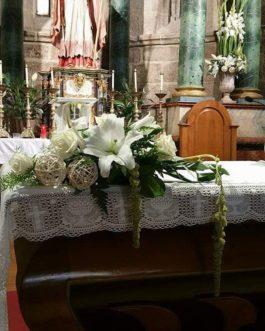 Bodas 21 – Decoración del altar para Bodas