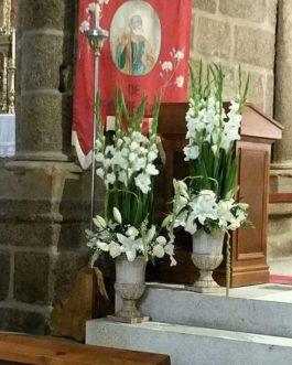 Bodas 22 – Decoración y Arte Floral de la iglesia para Bodas