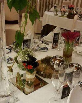 Bodas 28 – Decoración y Arte Floral en restaurante para Bodas
