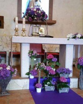 Bodas 5 – Decoración del Altar