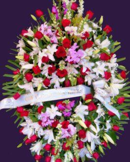 Corona flor selecta