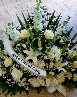 Funerario blanco