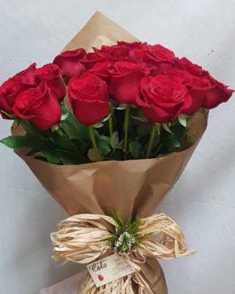 24 Rosas naturalmente