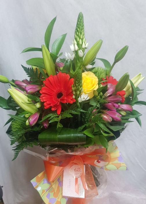 Ramo calo 3 flores regalo