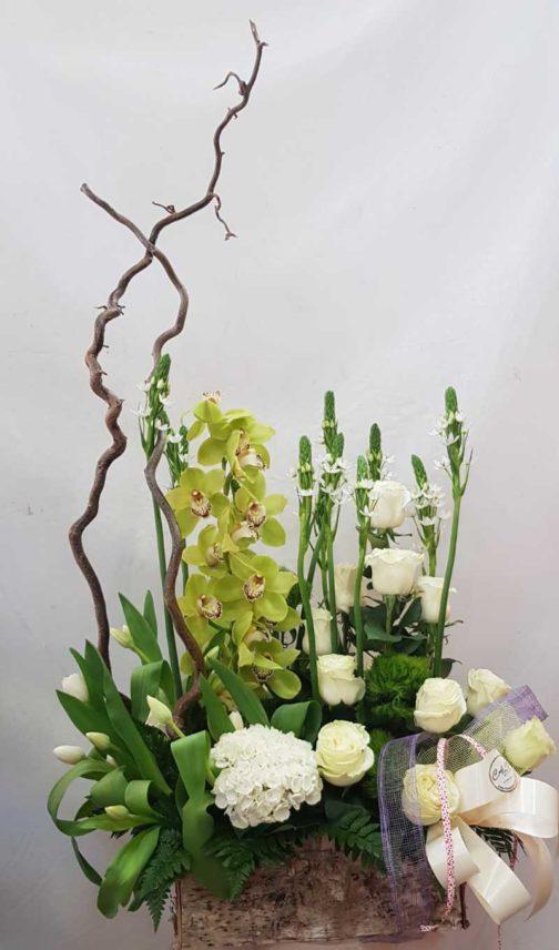 centro flores regalo