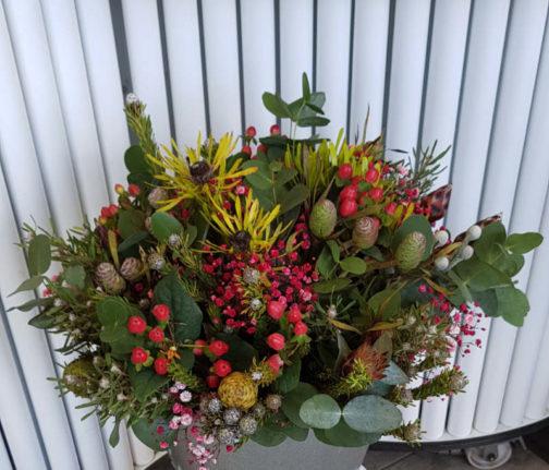 ramo flores tropical