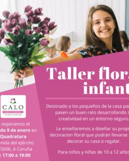 Taller floral infantil