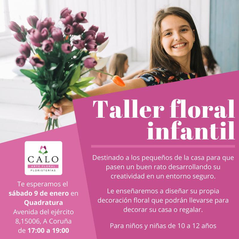 taller para floral infantil coruna