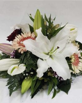 Cojín floral